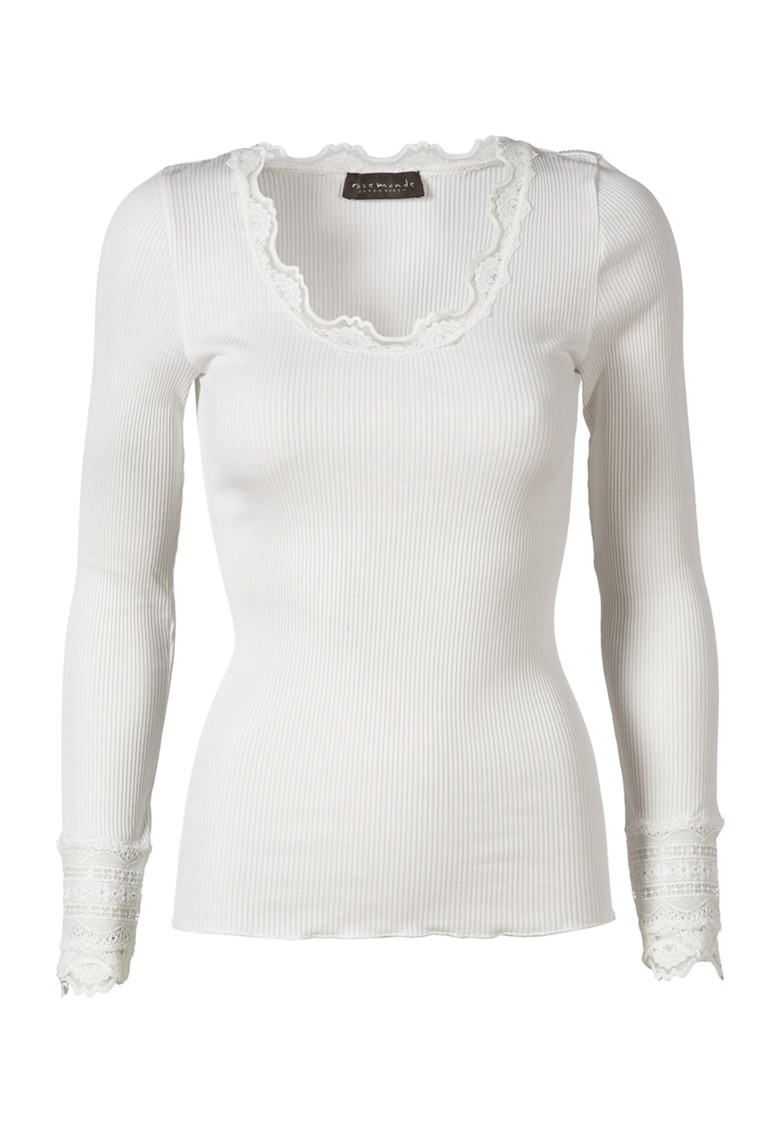 ROSEMUNDE silk t-shirt regular