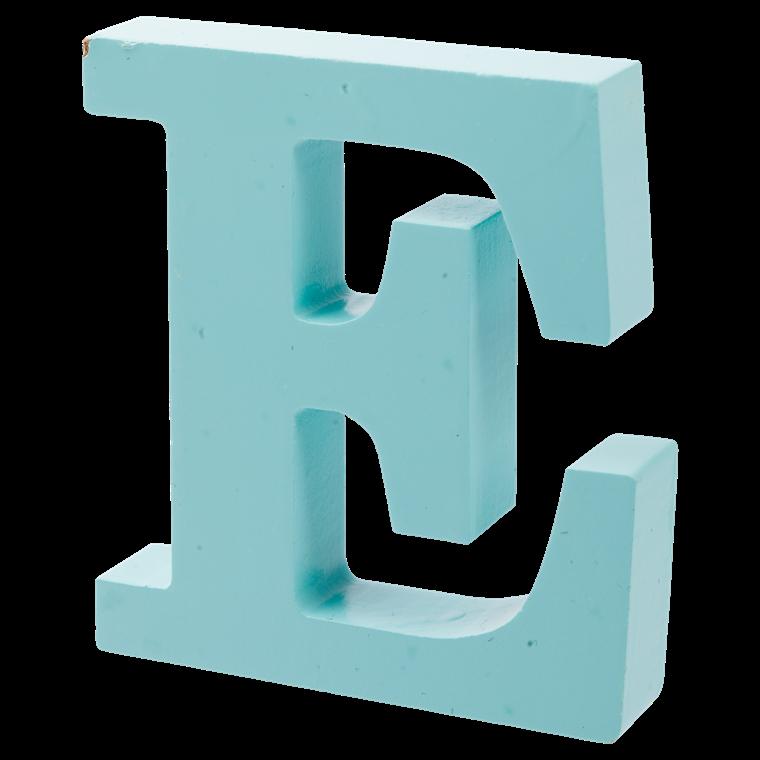 OPENMIND bogstav i træ E