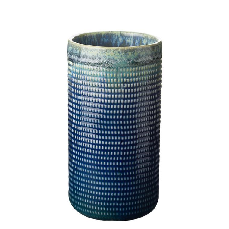 CRÉTON MAISON Vintage blue vase