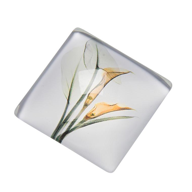 OPENMIND Blomster glasmagnet