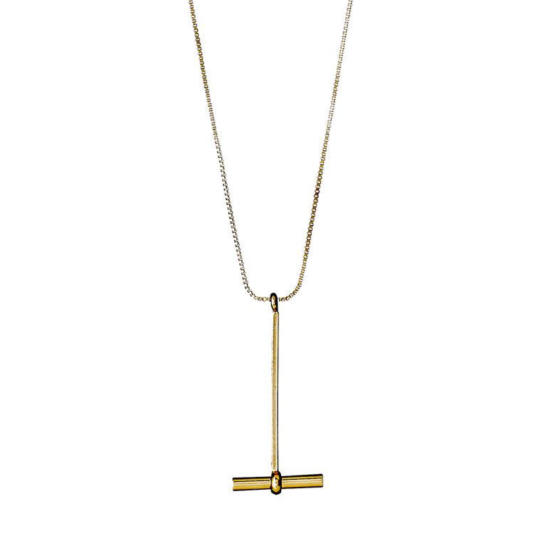 Pilgrim Necklace Fiona_PI Gold Plated