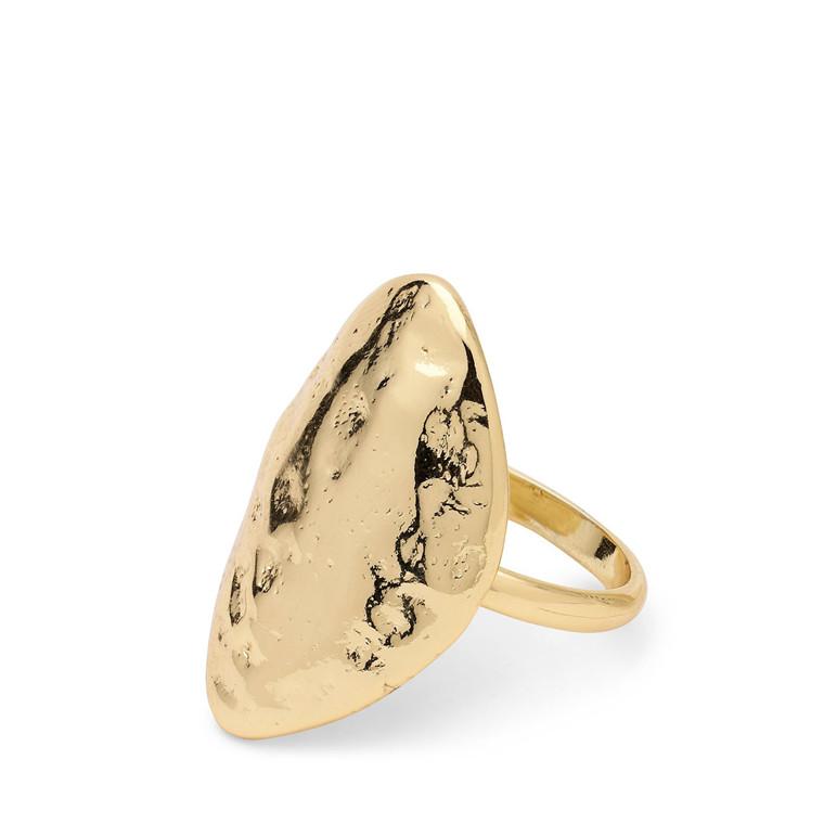 Pilgrim Ring Ama1 Gold Plated
