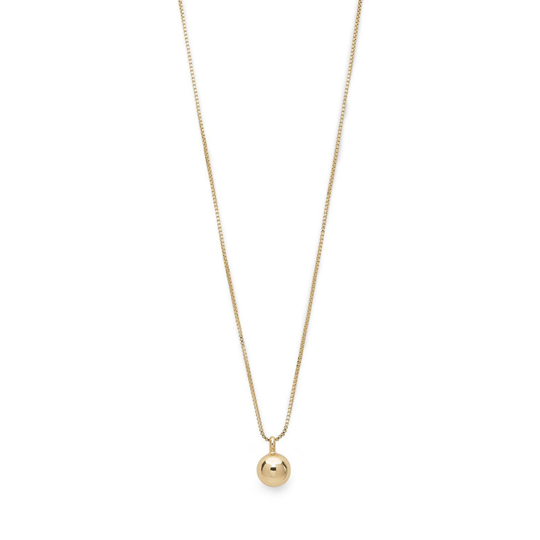Pilgrim Necklace Poe Gold Plated