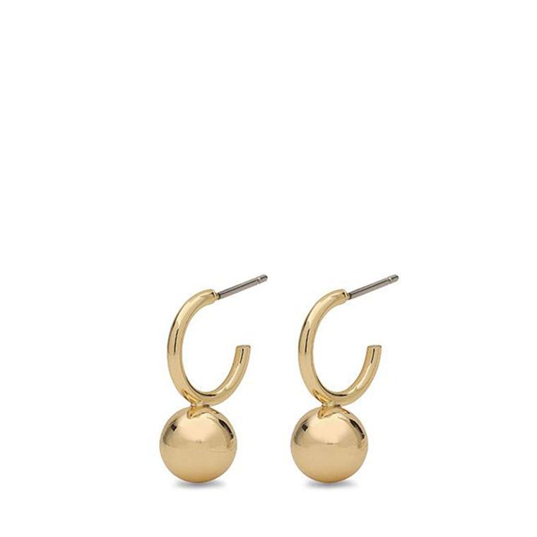 Pilgrim Earrings Poe Gold Plated