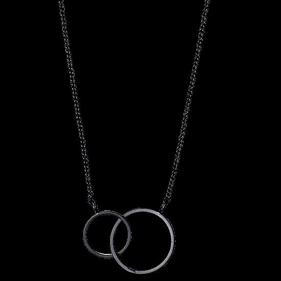 PILGRIM halskæde, hematite farvet