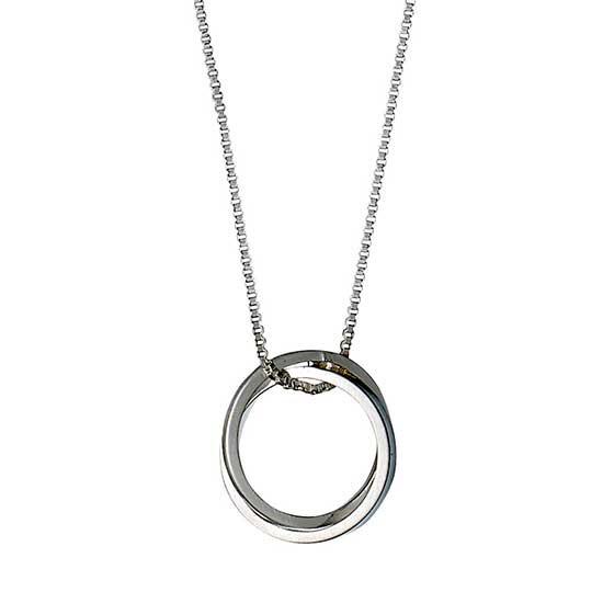 PILGRIM halskæde, sølv belagt