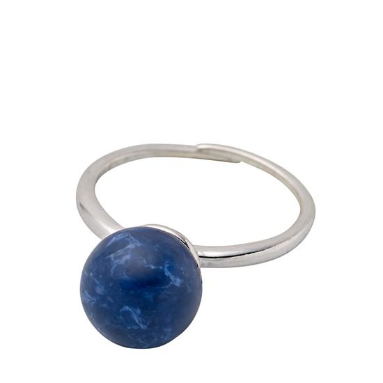 PILGRIM ring, sølv belagt