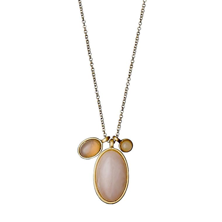 PILGRIM halskæde, guld belagt