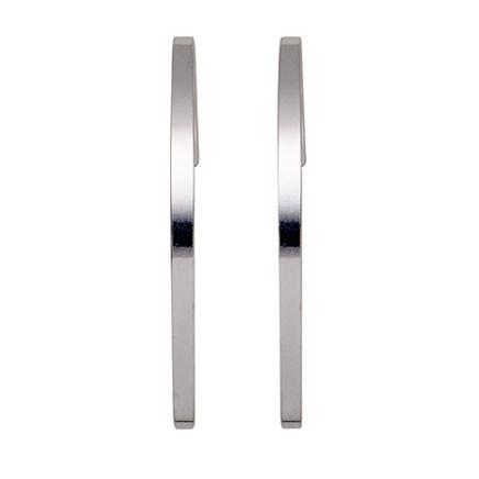PILGRIM øreringe, sølv belagt