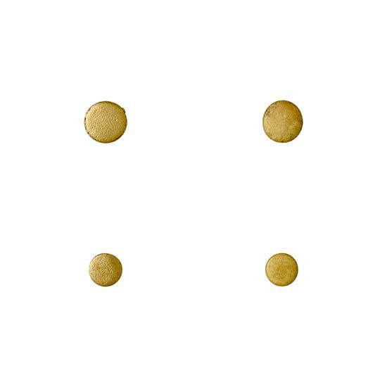 Pilgrim Earrings : Earrings : Gold Pla