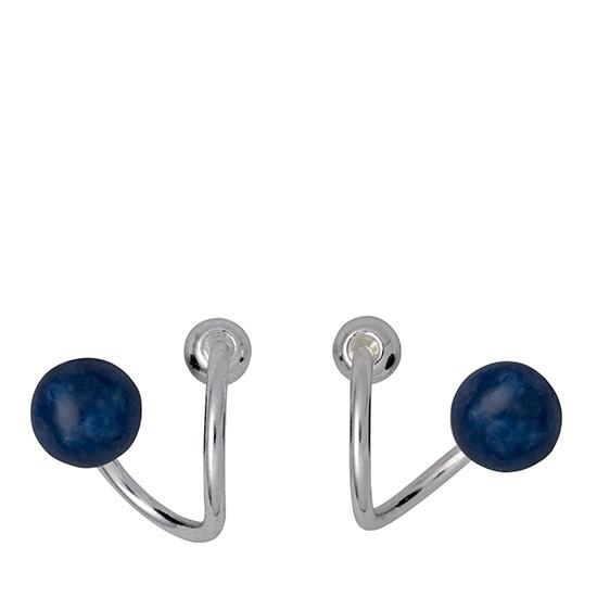 PILGRIM øreringe, sølv