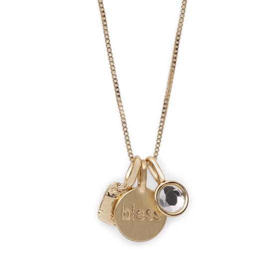 PILGRIM Fortune halskæde, guld