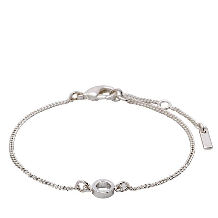 PILGRIM armbånd, sølv belagt
