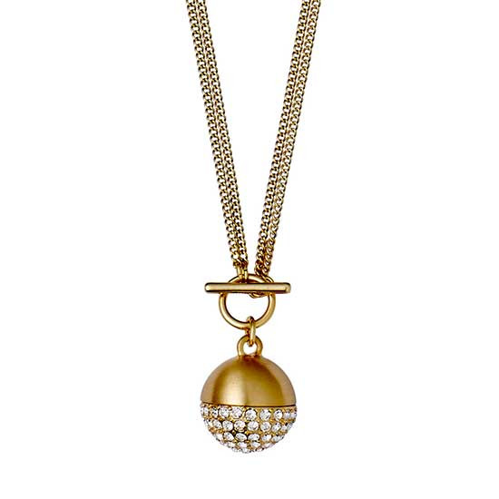 PILGRIM Necklace : Classic : Gold Plat