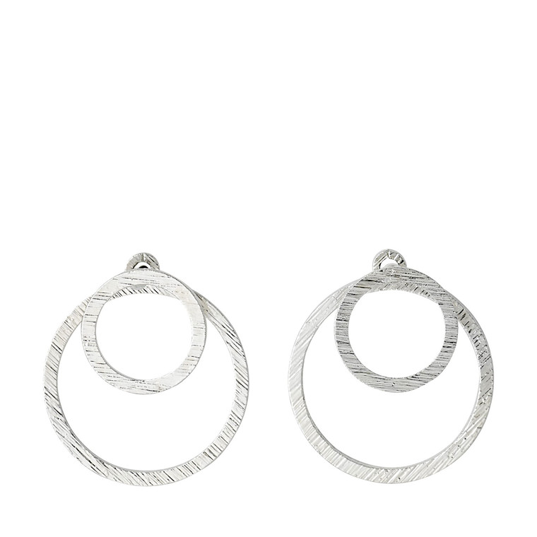 Pilgrim Earrings Zooey Silver Plated