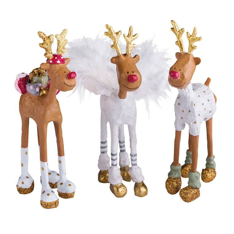 MEDUSA Rudolf The special ones sæt 3 stk