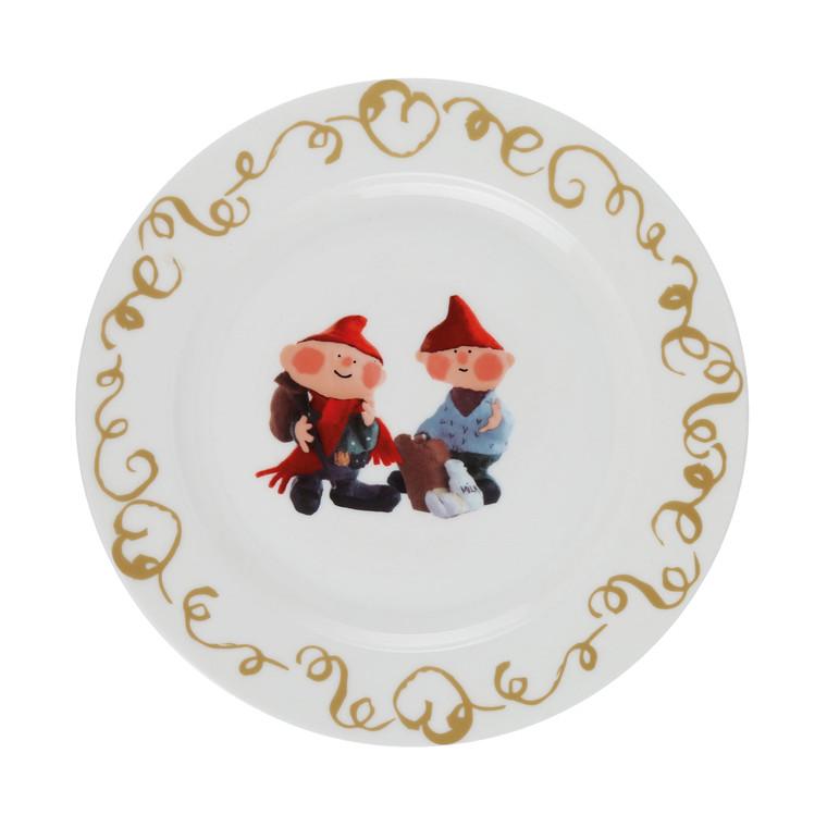 MEDUSA Nislingestel tallerken Hans og Ben