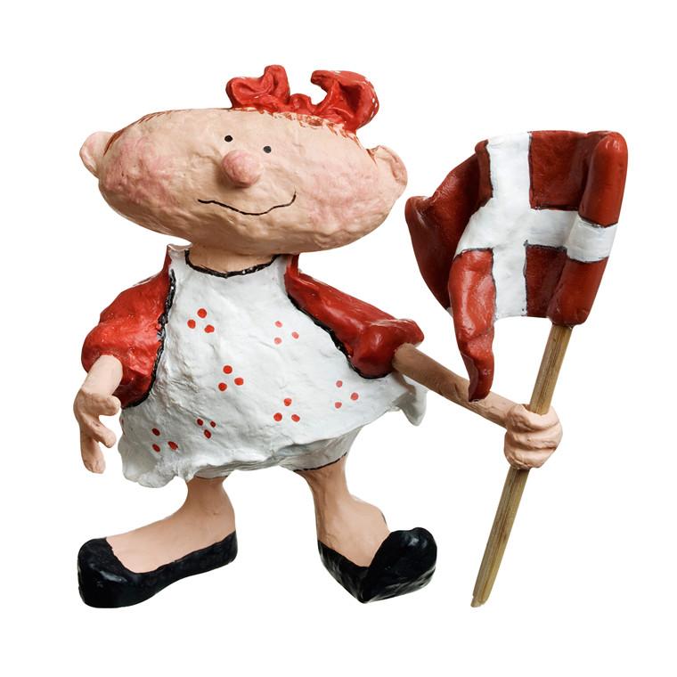 MEDUSA Celebration snuffel pige m/flag