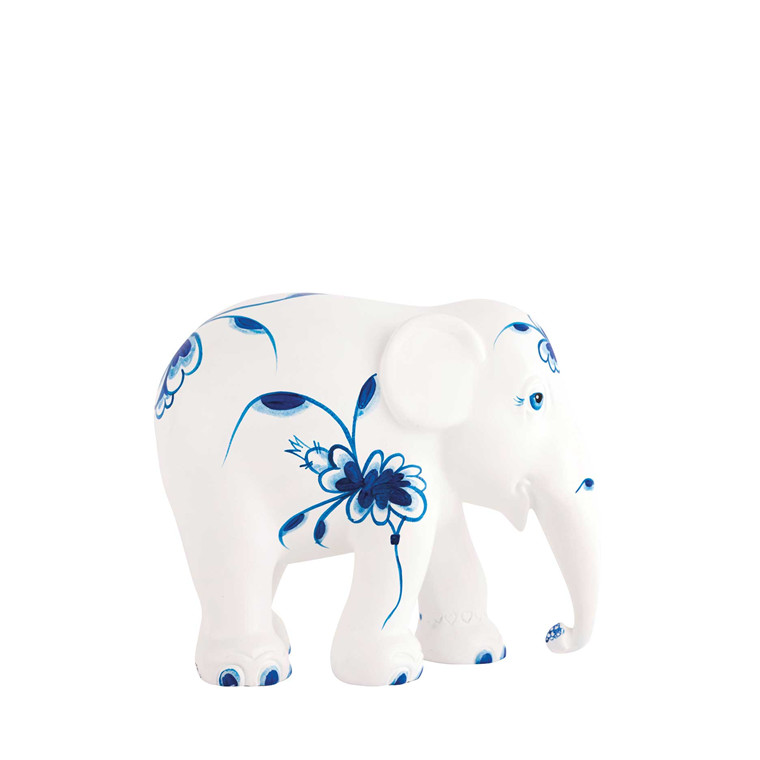 Elephant Parade blue dancers 10 cm