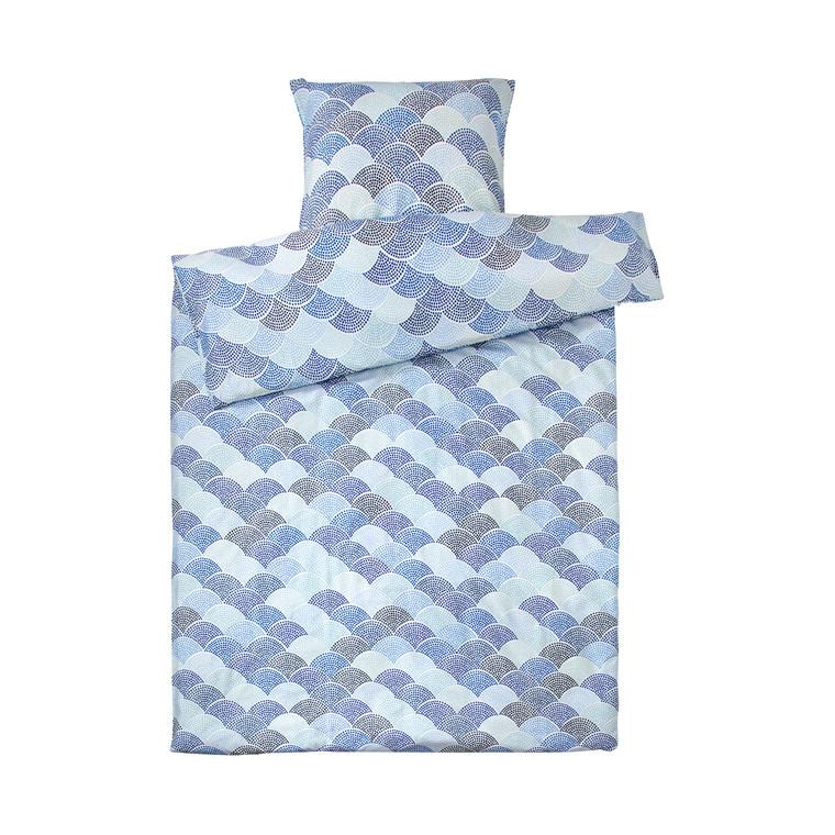 Susanne Schjerning Sandstone sengelinned 140 x 200 cm blå