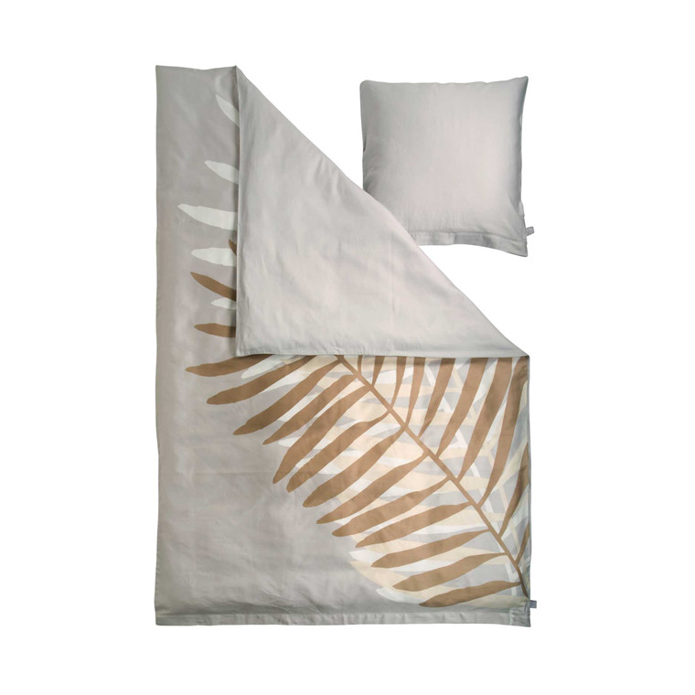 Susanne Schjerning Giant Palm sengelinned 140 x 220 cm sand