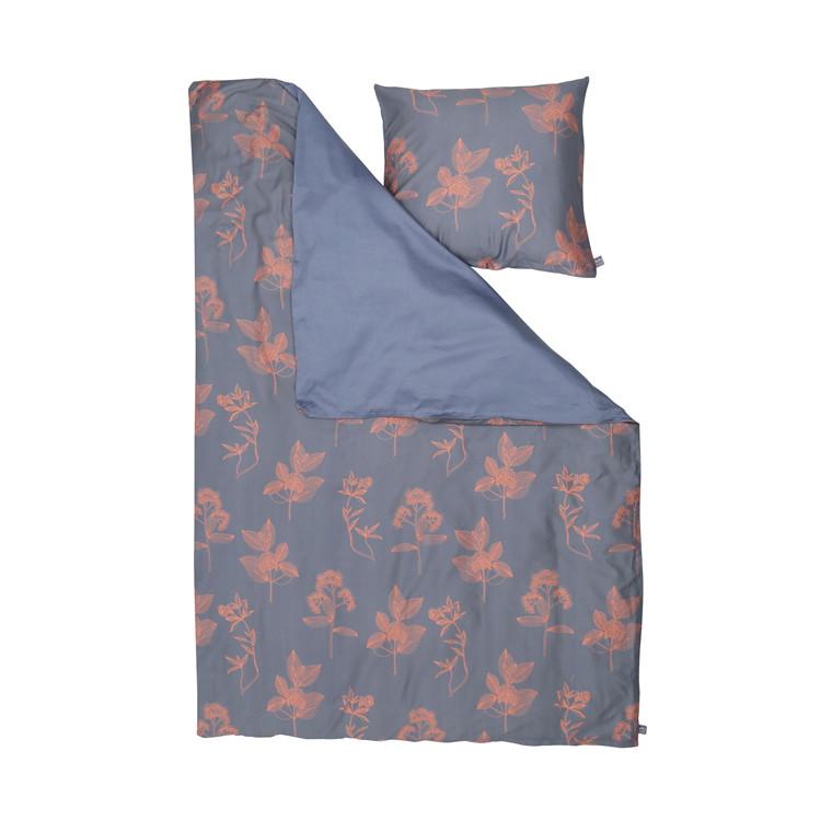 NOTES BY SUSANNE SCHJERNING Ixora sengelinned 140 X 200 cm blå