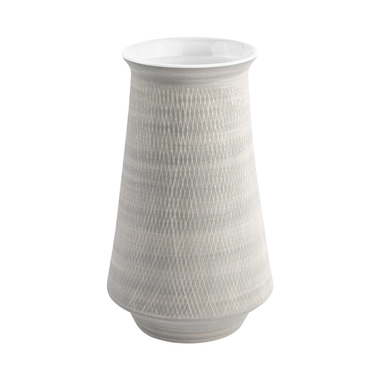 JUST Grey Retro vase hvid