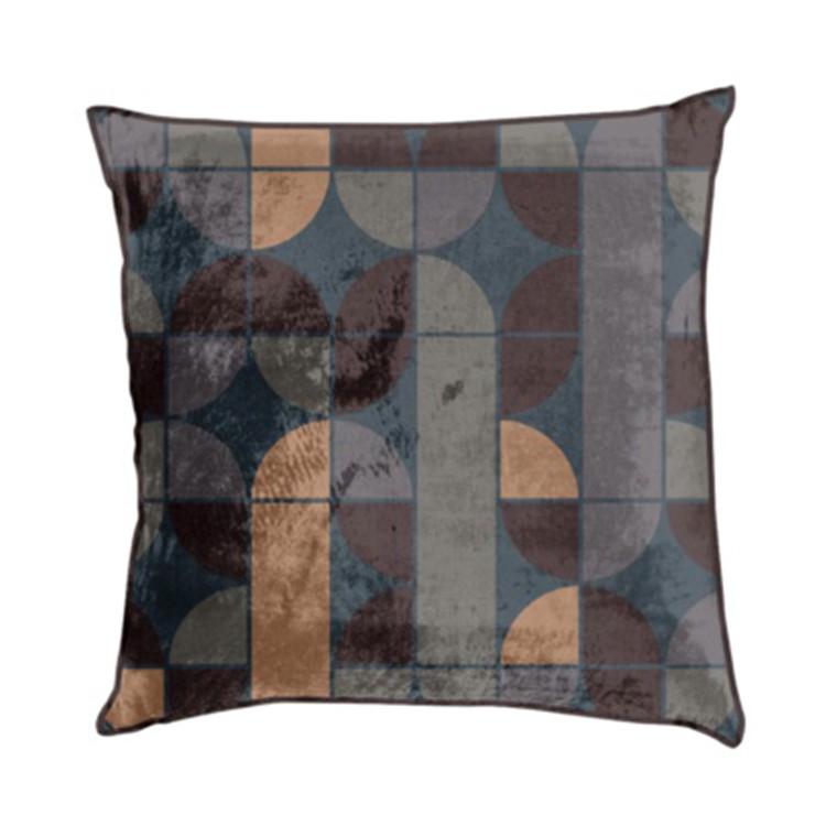 AMACE Retro Cushion coral 50 x 50 cm