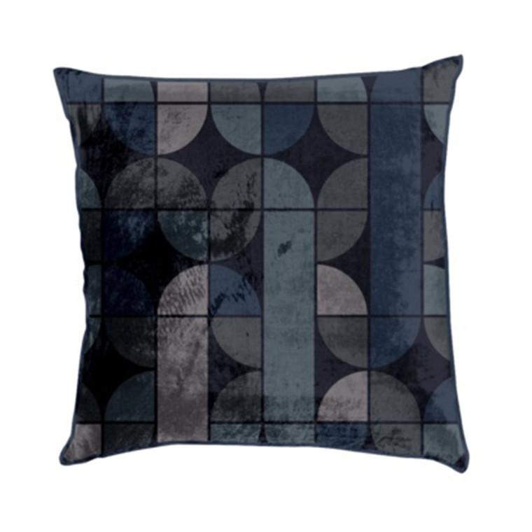 AMACE Retro Cushion graphite 50 x 50 cm