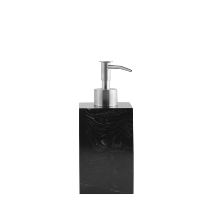 Amace wellness Soap Dispenser,Graphite,7x7x18