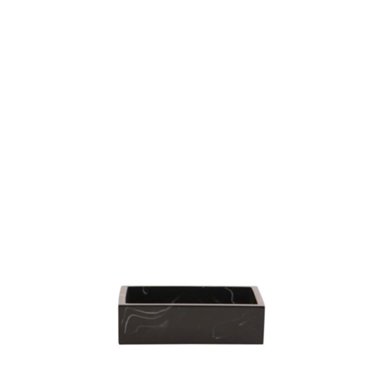 AMACE Soap Dish graphite 11.5 x 8 x 2 cm