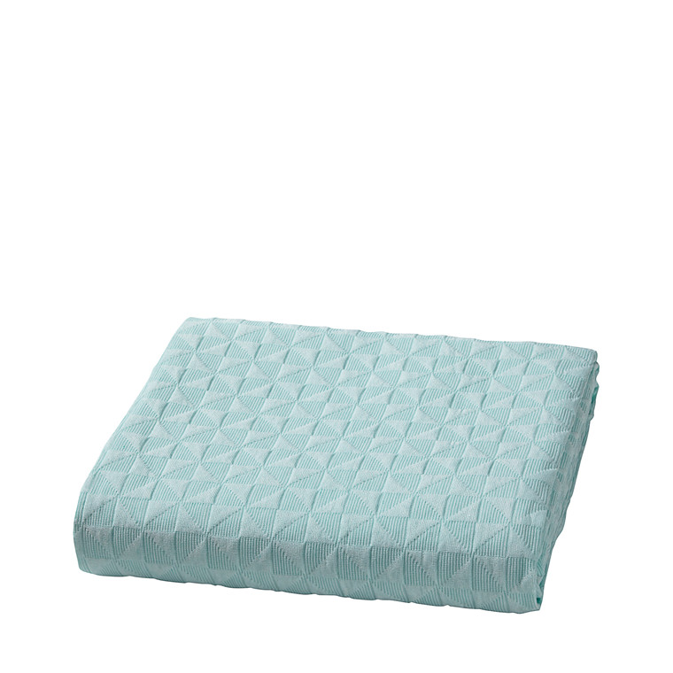 Mette Ditmer sengetæppe 280 x 250 cm mint