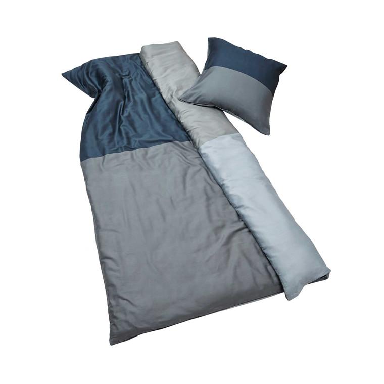 Mette Ditmer Domino sengelinned 140 x 220 cm grå/grå