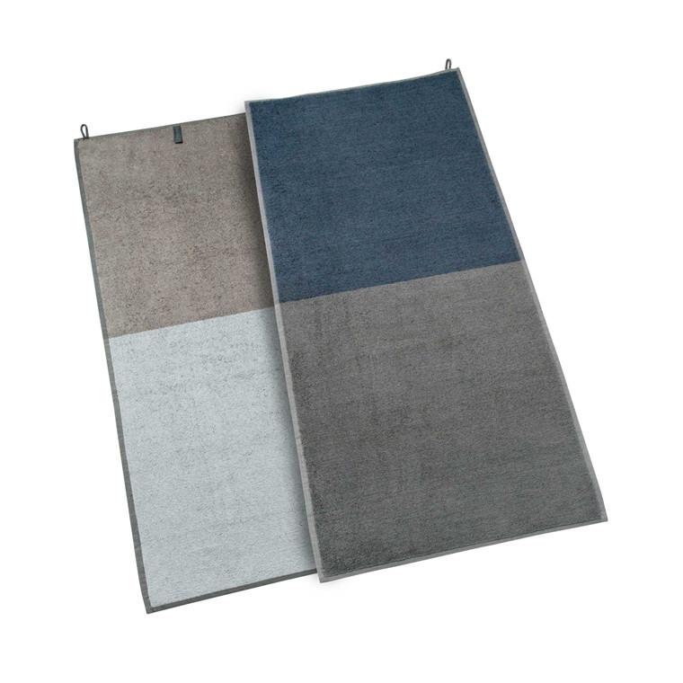 Mette Ditmer Domino håndklæde 70 x 140 cm grå