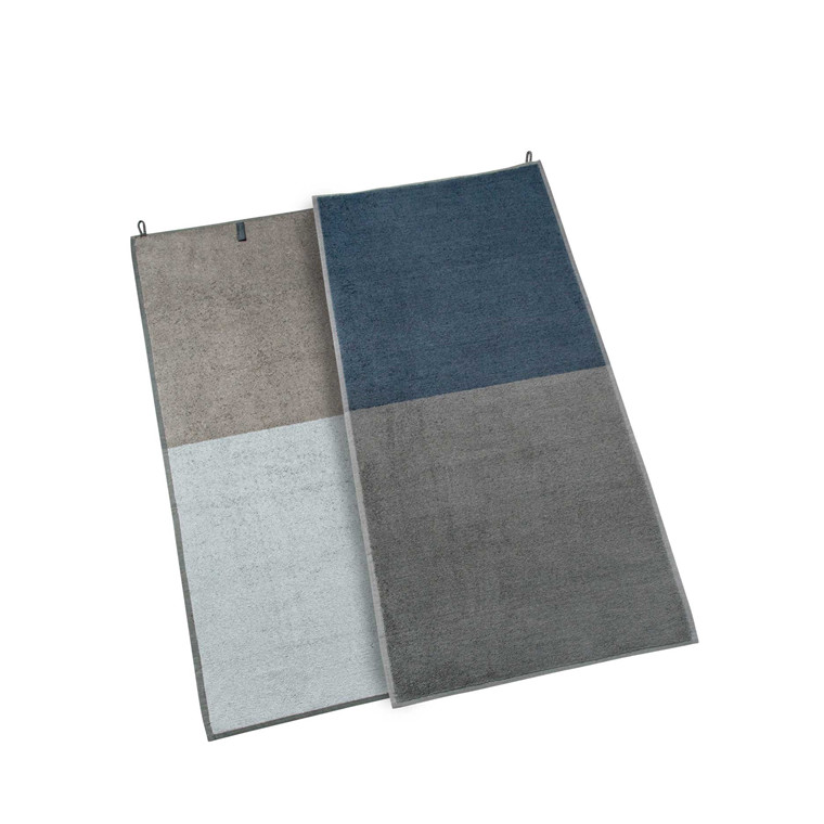 Mette Ditmer Domino håndklæde 50 x 100 cm grå