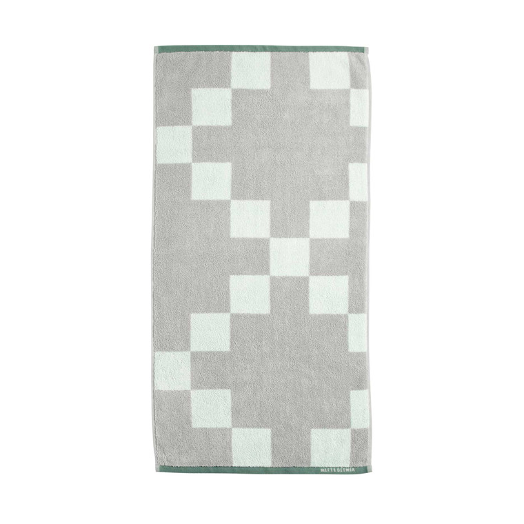 METTE DITMER håndklæde 70 x 140 cm ice green