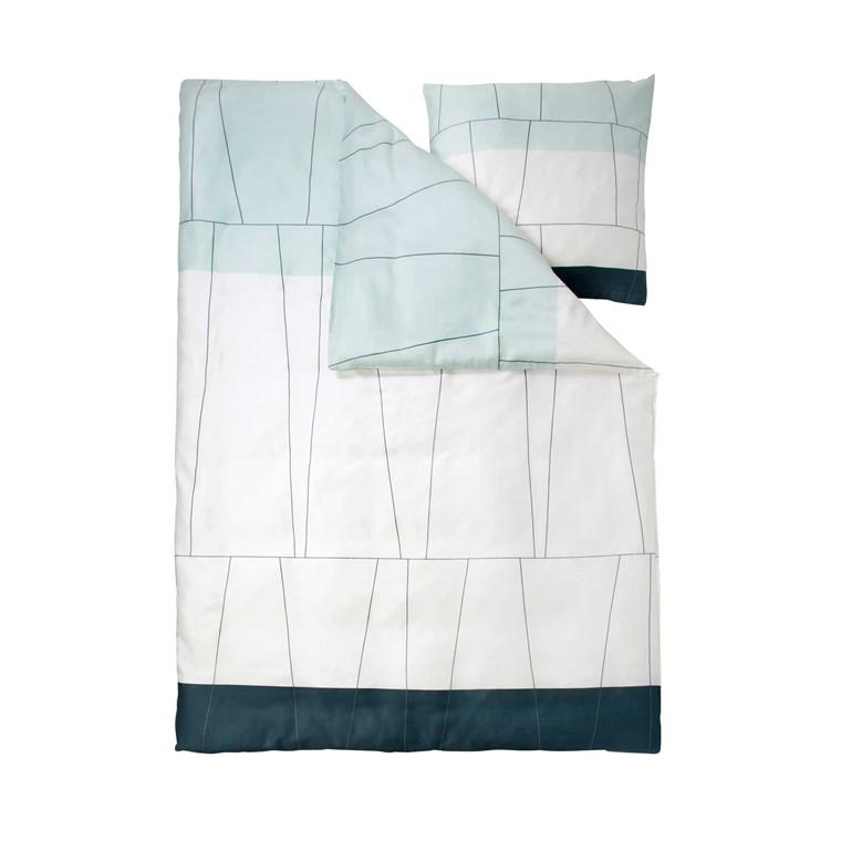METTE DITMER Verdi sengelinned 140 x 200 cm ice blue