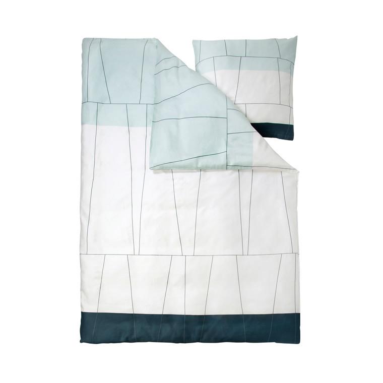 Mette Ditmer Verdi sengelinned 140 x 220 cm ice blue