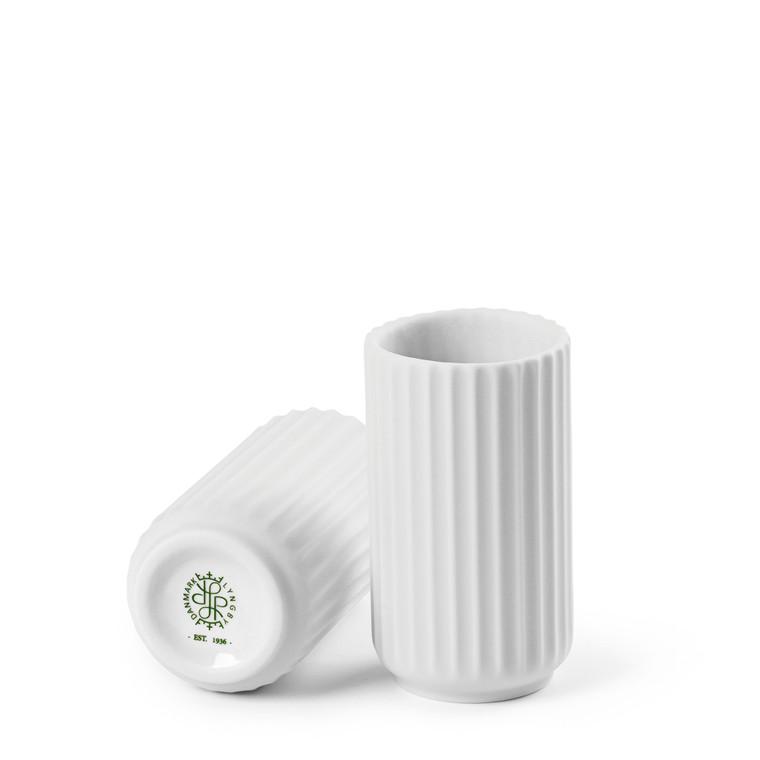 LYNGBY PORCELÆN Lyngby Vase 8 cm hvid