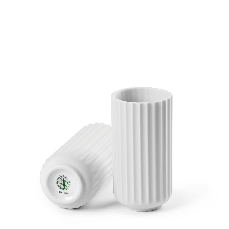 LYNGBY PORCELÆN Lyngby vase 10 cm hvid