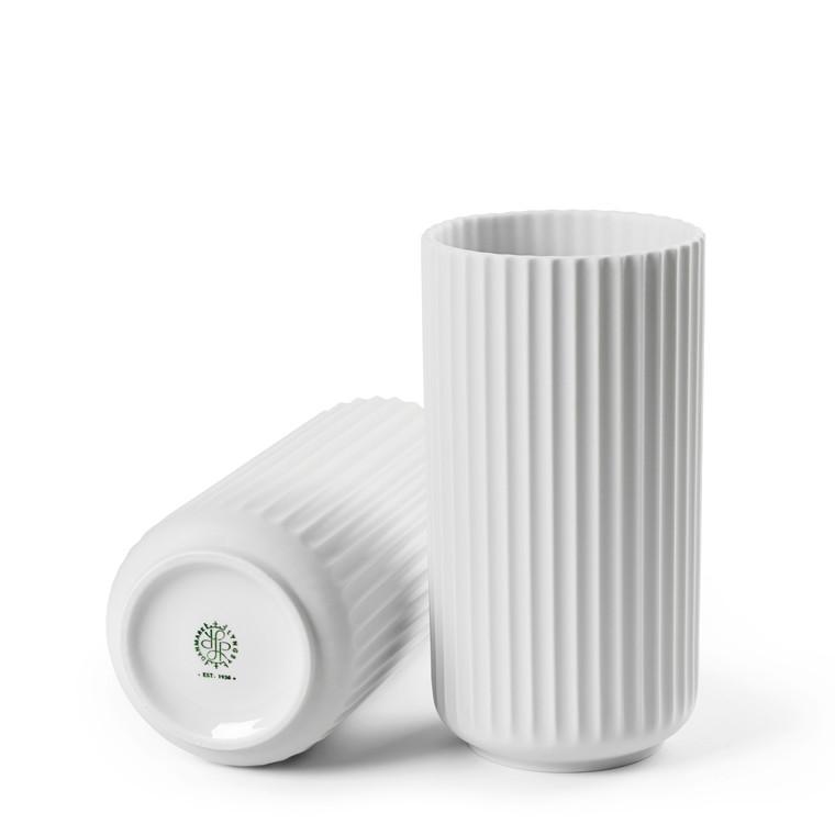 LYNGBY PORCELÆN Lyngby vase 20 cm hvid