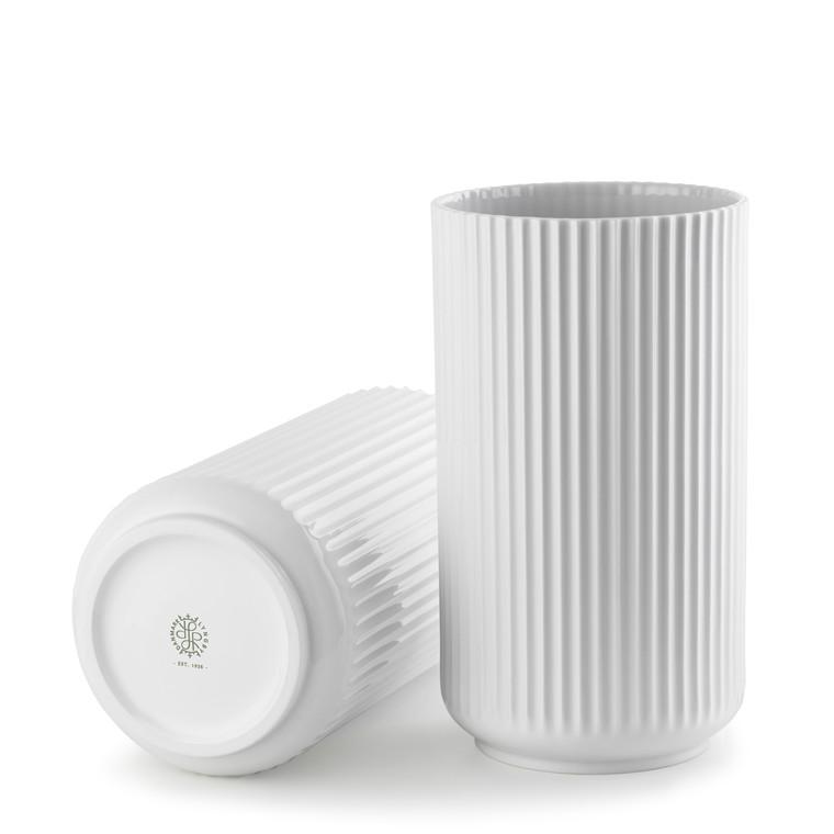 LYNGBY PORCELÆN Lyngby Vase 31 cm hvid