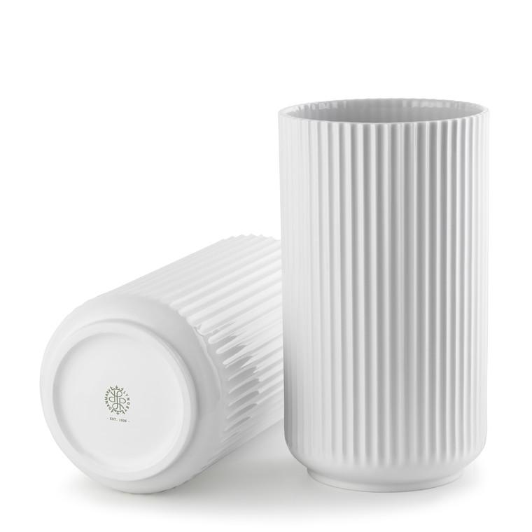 LYNGBY PORCELÆN Lyngby Vase 38 cm hvid