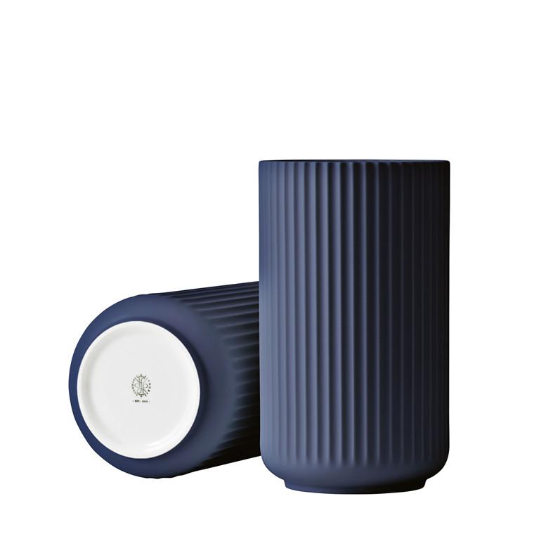 LYNGBY PORCELÆN Lyngby vase 20 cm midnight blue