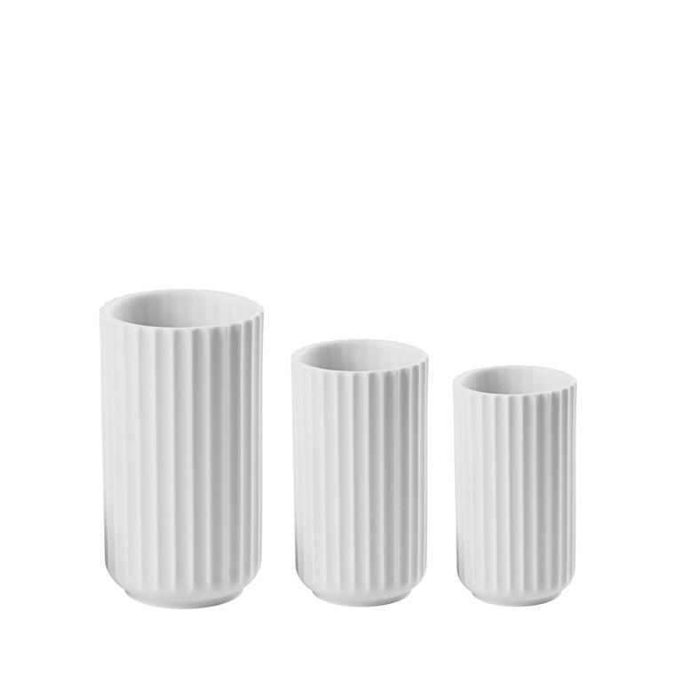 LYNGBY PORCELÆN Lyngby vase Collection 8 + 10 + 12 cm