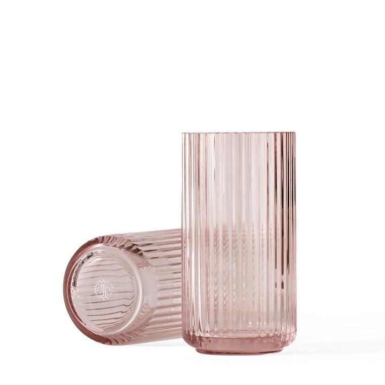 LYNGBY PORCELÆN Lyngby vase i glas 12 cm burgundy