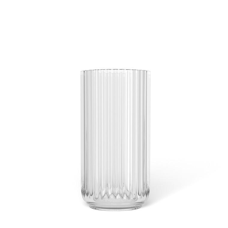 LYNGBY PORCELÆN Lyngby vase i glas 15 cm klar