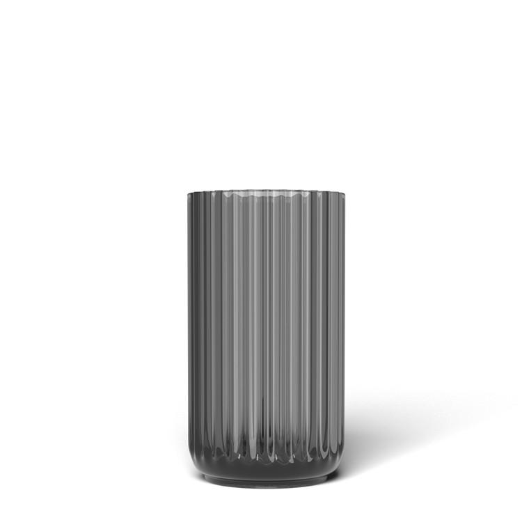 LYNGBY PORCELÆN Lyngby vase i glas 12 cm smoke