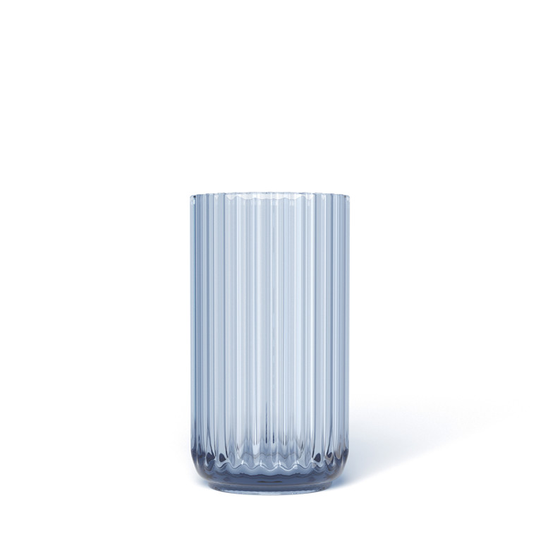 LYNGBY PORCELÆN Lyngby Vase i glas 12 cm blå