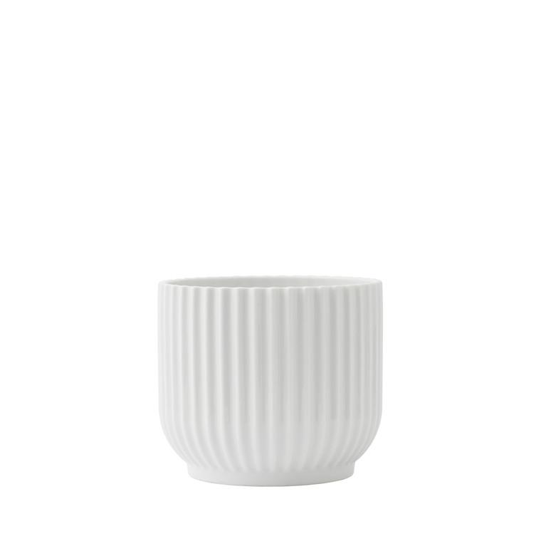 Lyngby Porcelæn Flower pot small white
